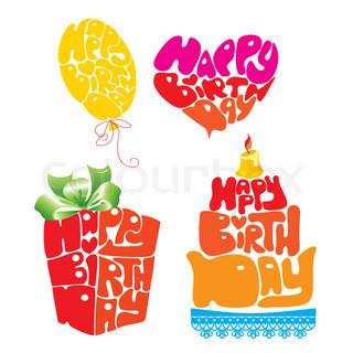 Birthday Symbols FB