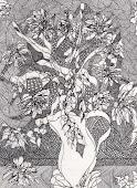 Moje czarno białe rysowanie-klik w obrazek