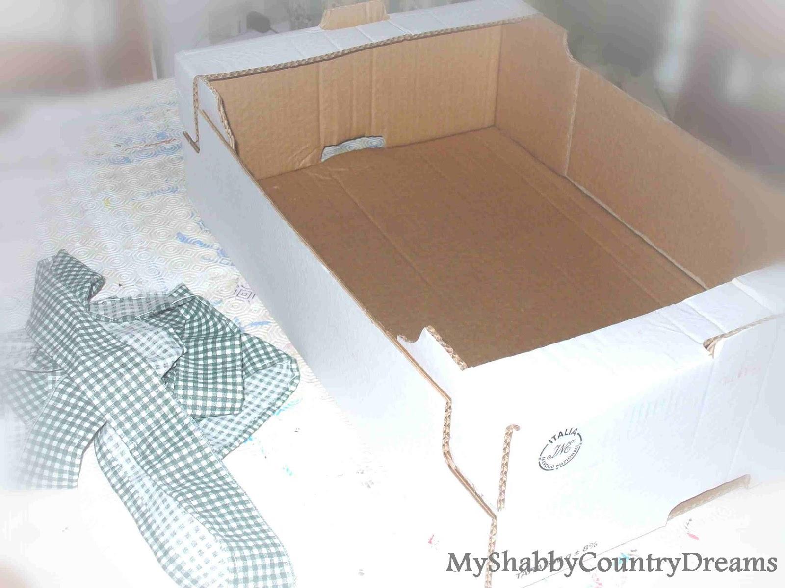 Famoso MyShabbyCountryDreams: Scatola Porta Bomboniere DR64