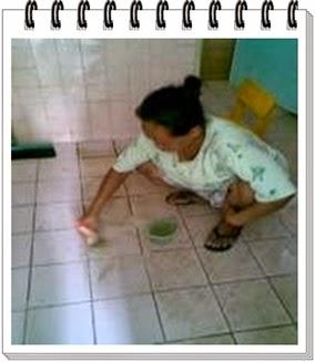 di salah satu Sekolah menggunakan Mutiara Cleaner