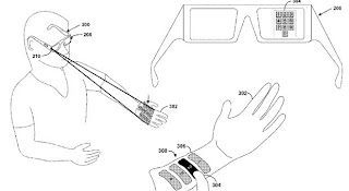 Google Laser Projection System Project Glass