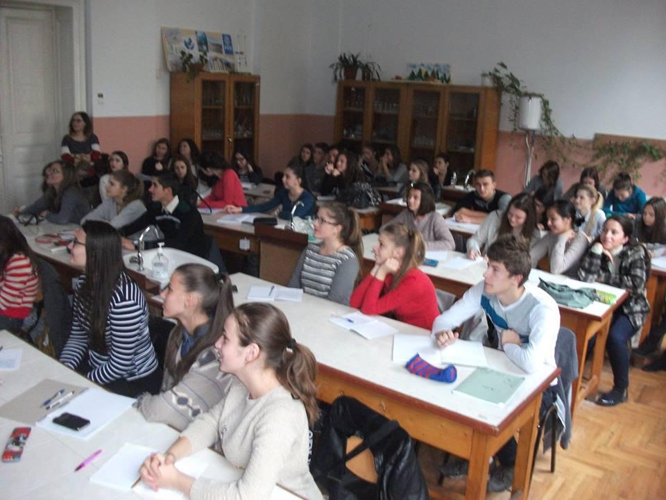 """Cursuri CEx la C.N. """"Roman Vodă"""", 24.10.2015..."""