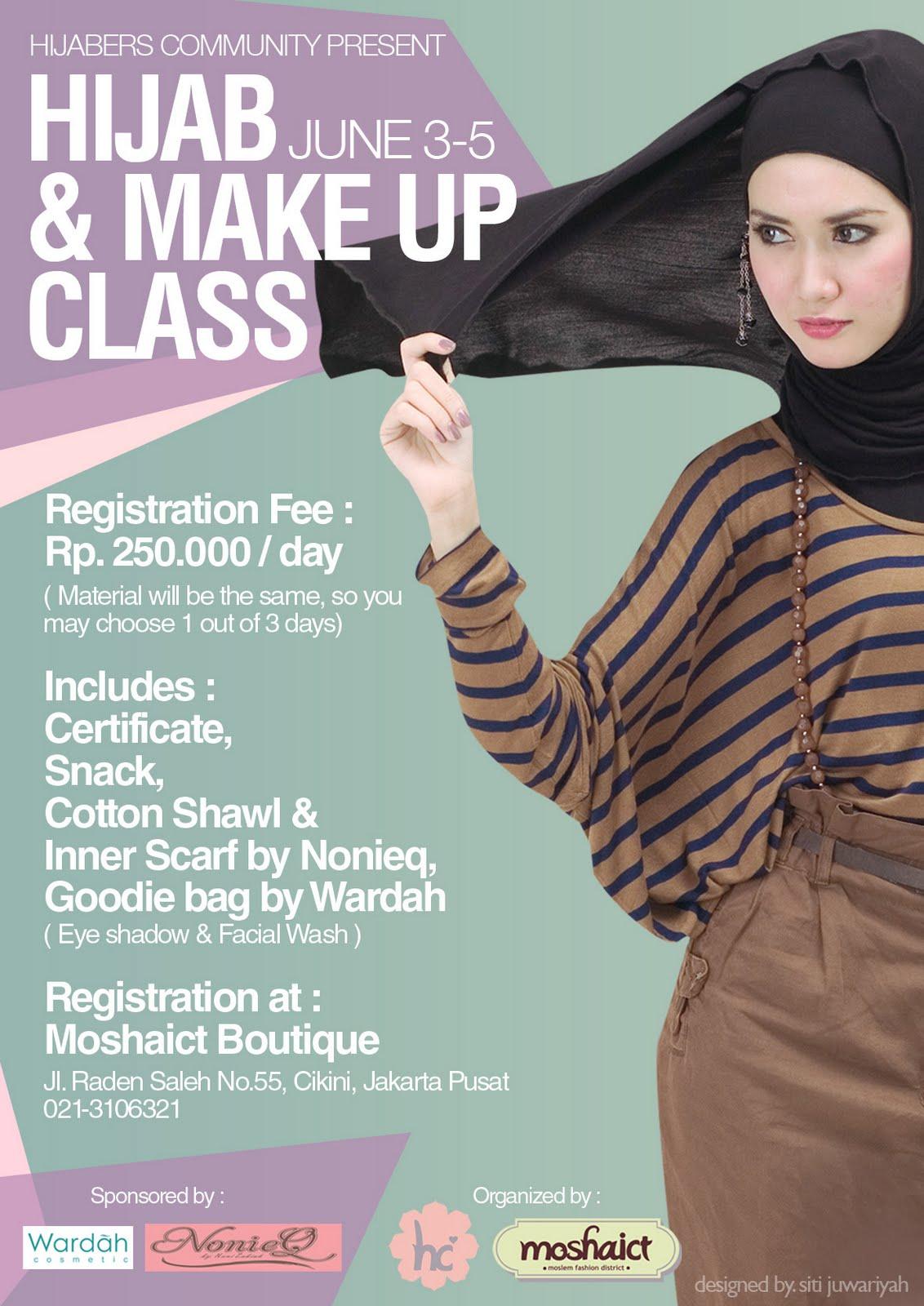 L!FE REPORT: Hijab Class by Hijabers Community
