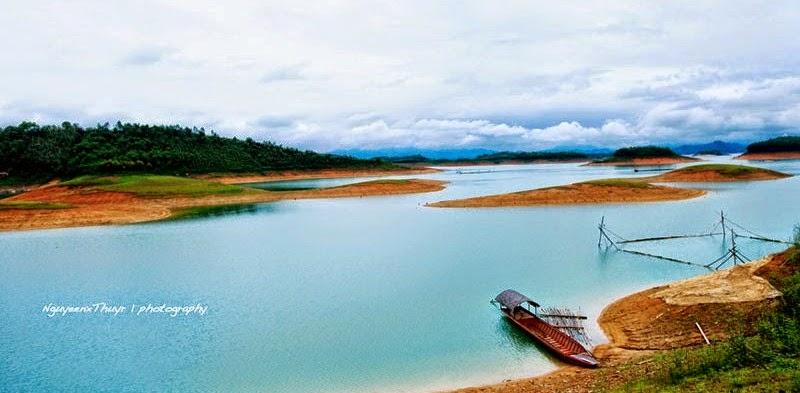 Hồ Thác Bà Yên Bái