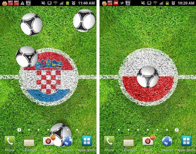 Adidas – UEFA Euro 2012 Live Wallpaper