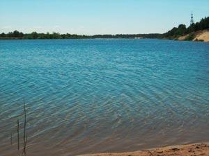Ловля карпов на карьерном озере