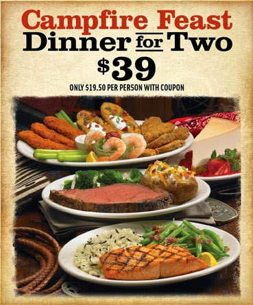 Campfire Feast dinner for two for $ See Coupon. In-Store Coupon. Fall Trio for $ See Coupon. you can save with coupons even at Black Angus! 4, Black Angus coupons were printed by our users last year. were printed last month. Total Offers: