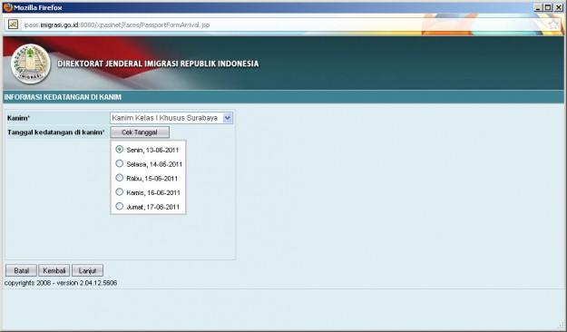 Cara Daftar Paspor online di Surabaya - exnim.com