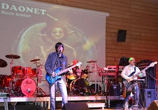 Daonet concert rock breton rock celtique