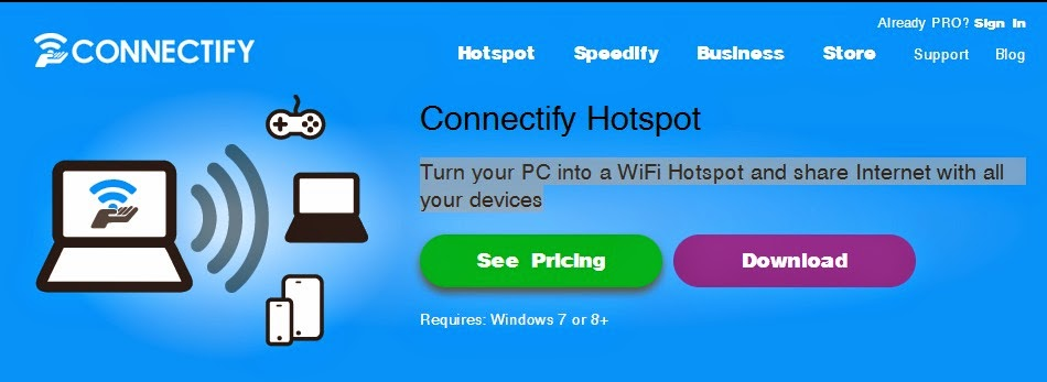Connectify Hotspot 9.1 Pro Full Serial Free Download Gratis