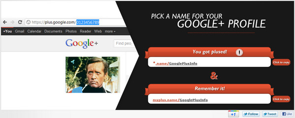 10 Sites to Create Shortened Google Plus Profile URL: MyPlus.name