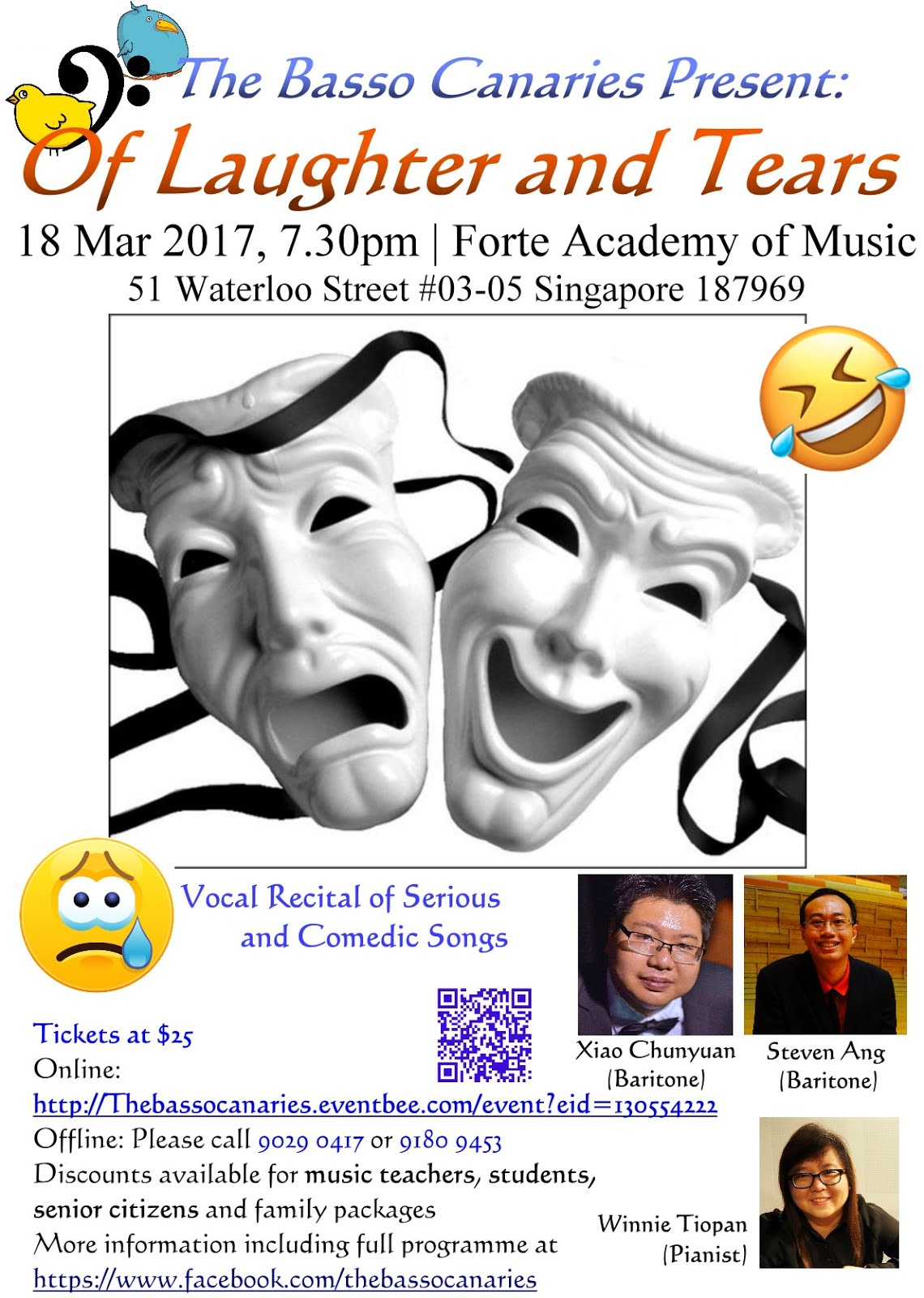 Vocal Recital: Of Laughter and Tears