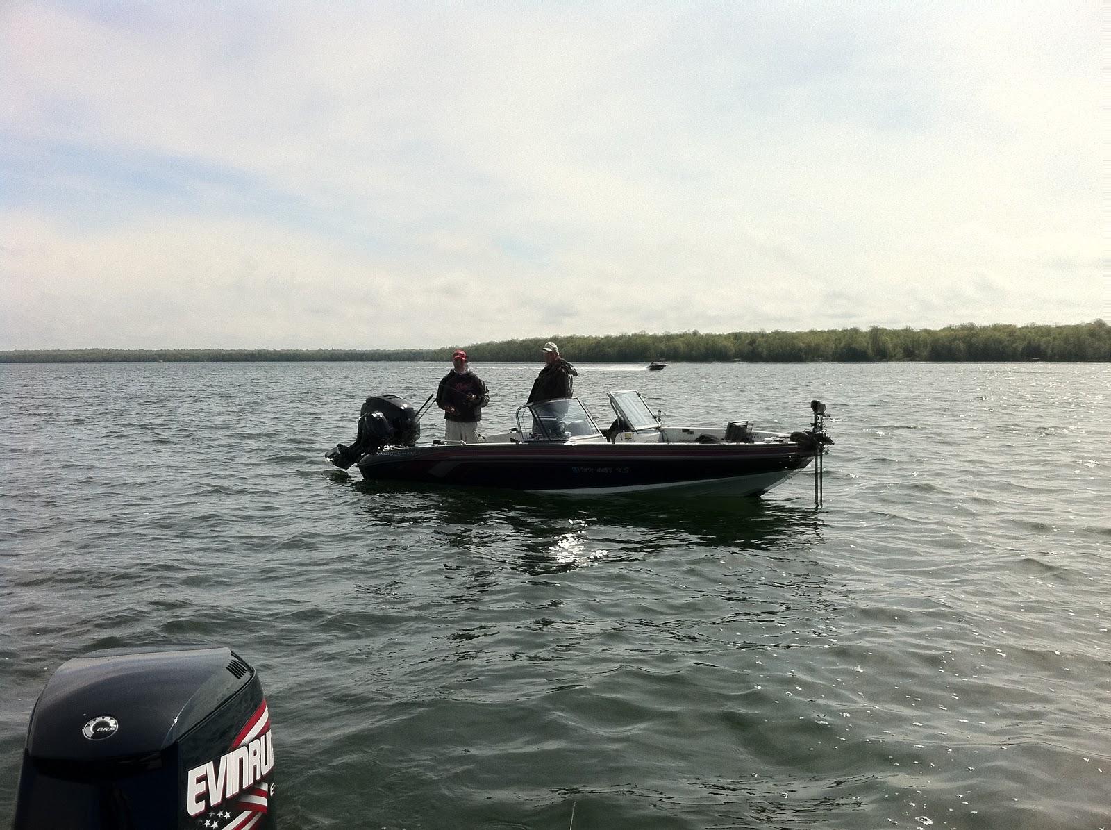 Yellow dog patrol leech lake fishing report late may 2011 for Leech lake fishing