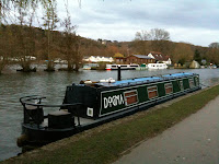 Dogma moored at Henley