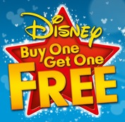 Disney's Buy One Get One Free – Starts 12th March