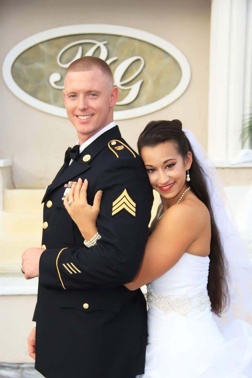 My son and his beautiful bride