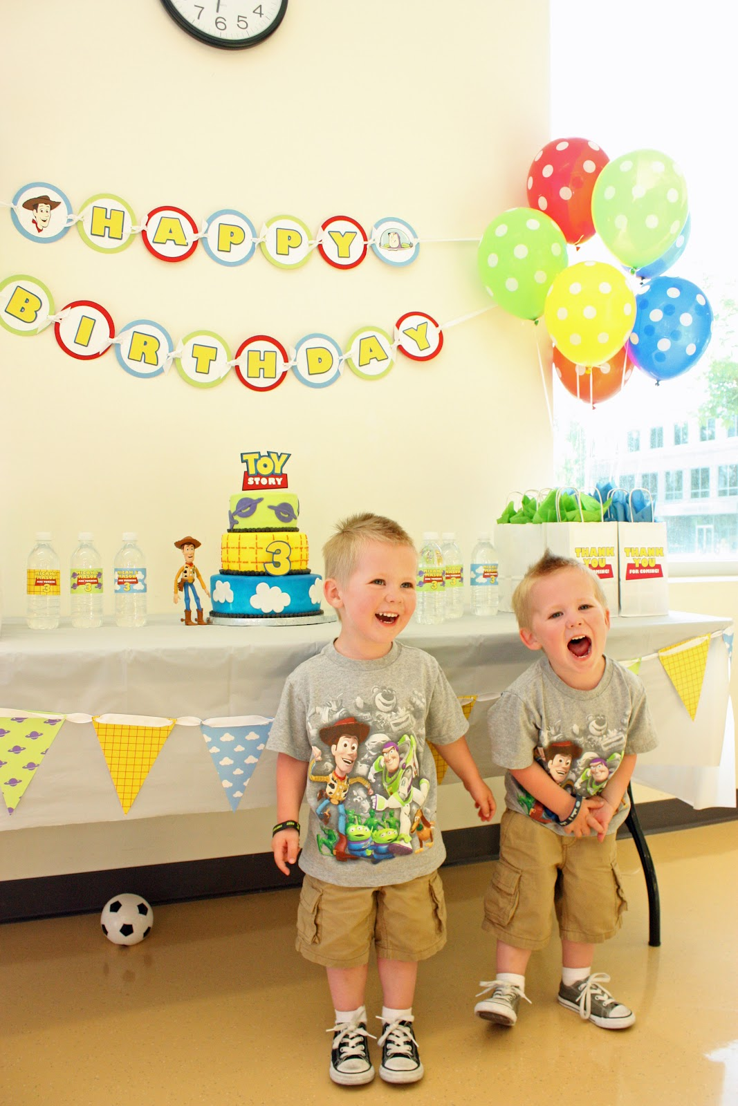 Toy Story Birthday Party : M creations buzz woody toy story birthday party