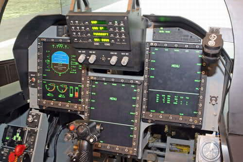 Cockpit Of JF-17 Thunder Of Pakistan Airforce (PAF)