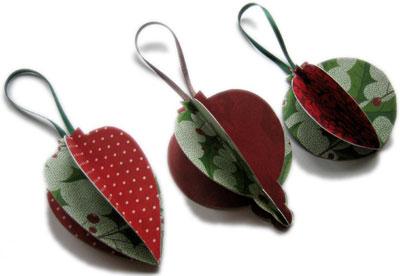 Homemade Christmas Ornaments Popcorn