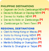 Cebu Pacific Air Piso Fare, the Juan you love