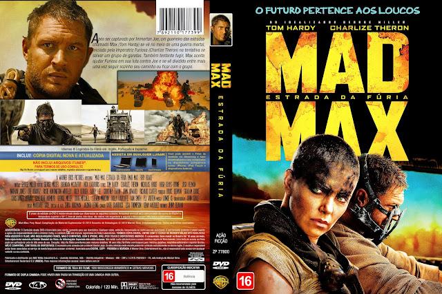 Capa DVD Mad Max Estrada Da Fúria