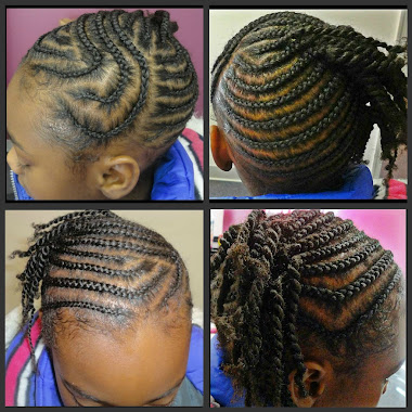 Corn Rowz/ Two Strand Twist