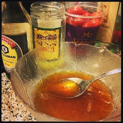 Медово-лимонная глазурь