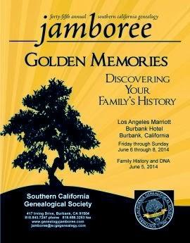 SCGS 2014 Jamboree poster