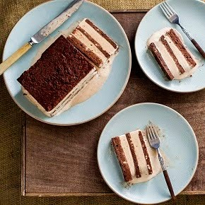ICE  CREAM  SANDWICH  CHOCOLATE  TERRINE  CAKE!