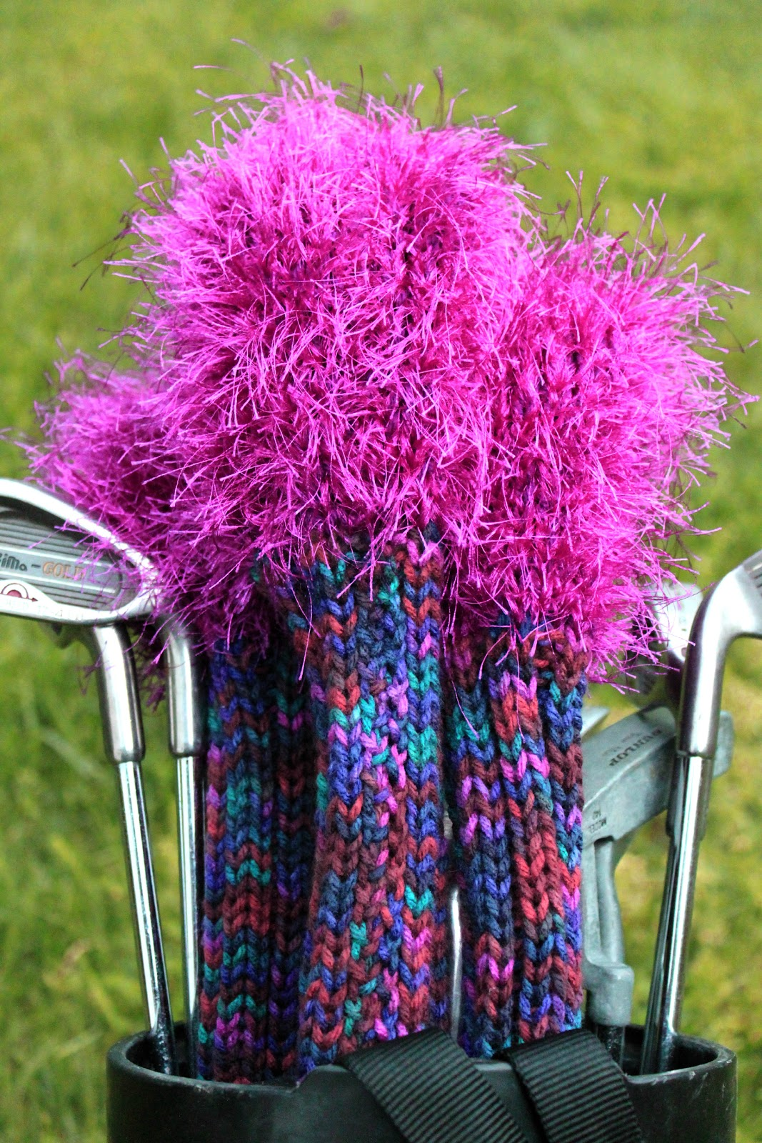 Knitting Pattern Golf Driver Cover : The Creative Imperative: Knitted Gift for Mom (or Dad if They Werent So ...