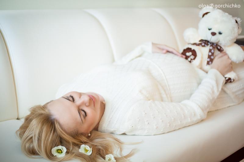 Фотосессия беременности Светы