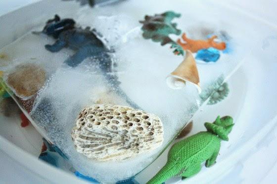 Juego handmade para futuros paleontólogos