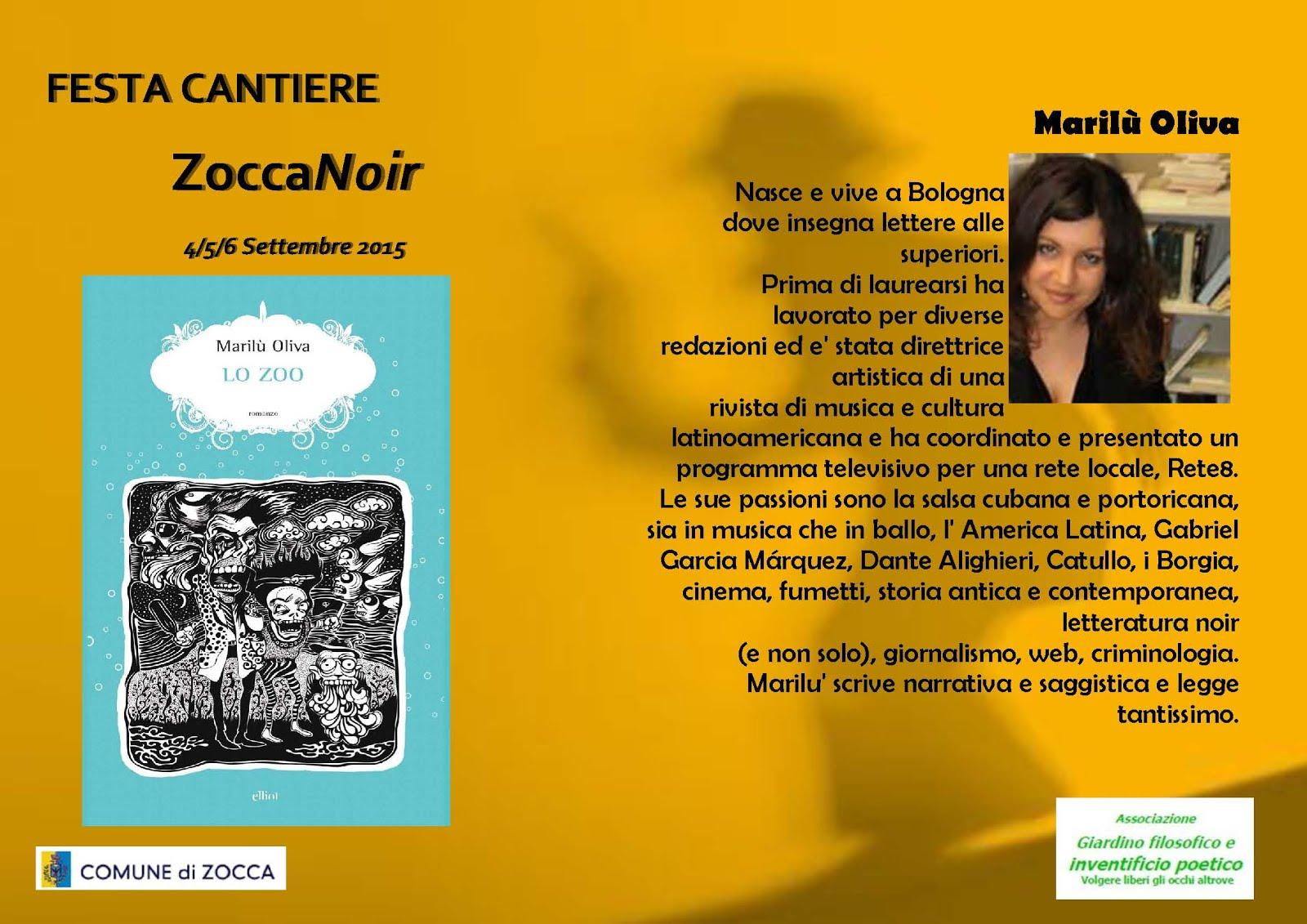 Biografia Marilù Oliva