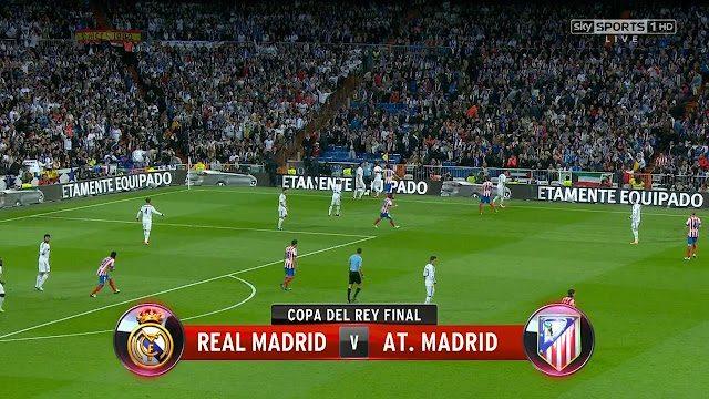 Copa del Rey final - Real Madrid vs Atlético Madrid 17/05/2013