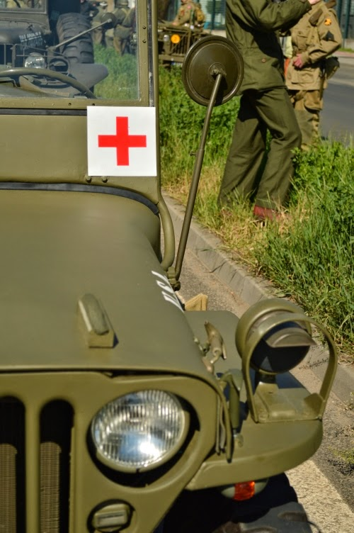 Convoy of Liberty 2014, ambulance, car, veteran, ww2