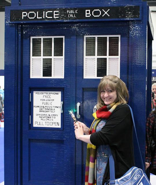 Doctor Who Festival 2015 - LEGO TARDIS