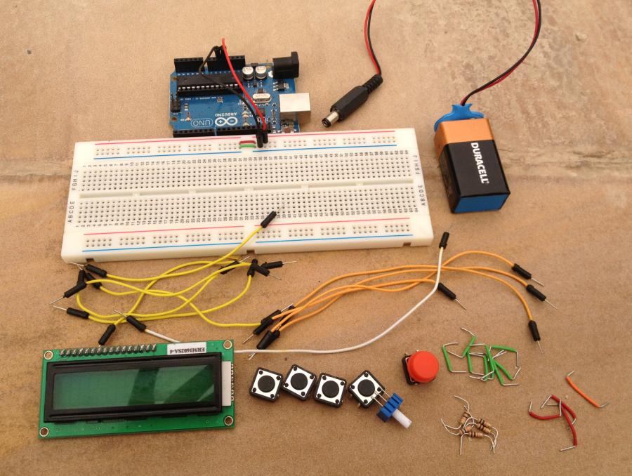 Rcarduino lap timer build along part one