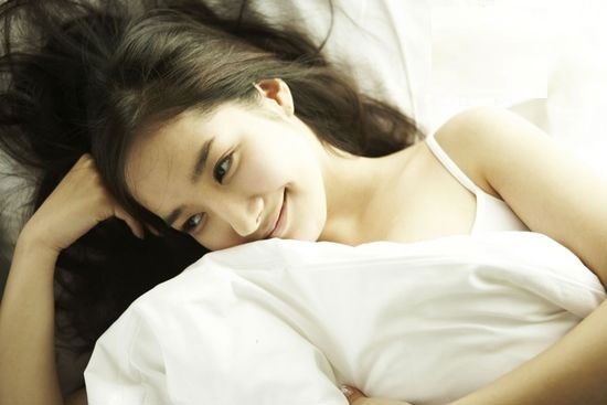 park min young sexy in bed
