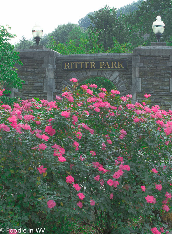 Ritter Park Sign Huntington, WV