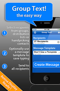 Group Text! IPA App Version 1.9