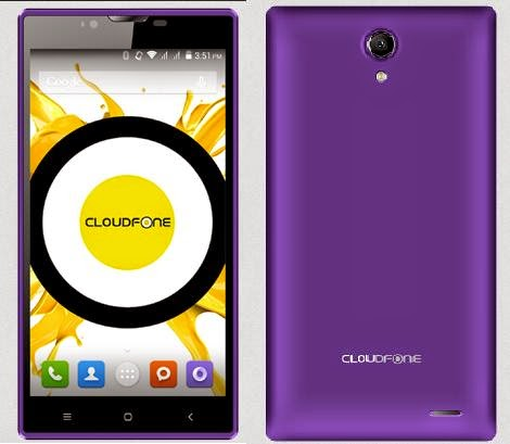 CloudFone Excite 551q, 5.5-inch Quad Core 1GB RAM 8GB ROM