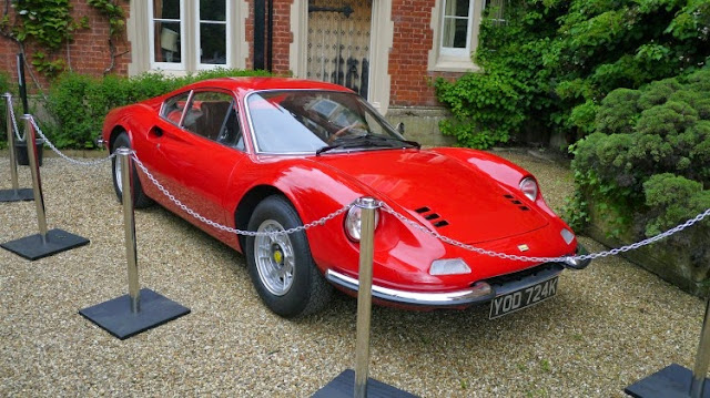 Ferrari Dino at Childerley Hall Food Festival Cambridge