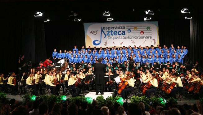 Orquesta Sinfonica Esperanza Azteca, proyecto moralino de TV Azteca y Fundacion Azteca | Ximinia