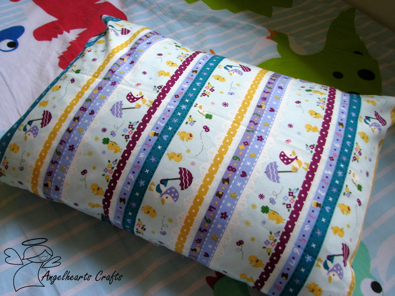 Cute Pillow Cases : Angel Hearts Crafts: Kid s Cute Pillow Cases