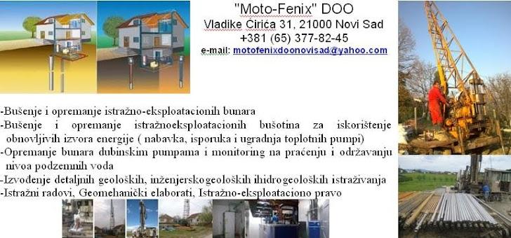 """""""Moto-Fenix"""" DOO"""