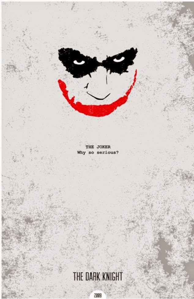 Minimalist Movie Posters The Dark Knight Rises
