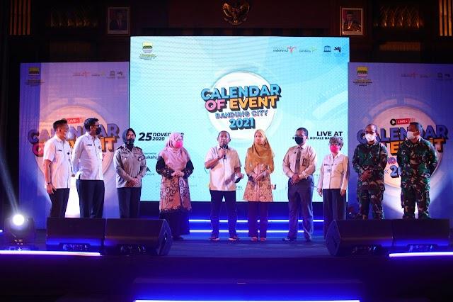 Kota Bandung Luncurkan Calendar of Event 2021