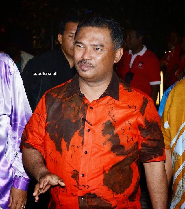Melaka Chief Minister, Yang Amat Berhormat Datuk Seri Idris Haron arriving at The Shore during the grand opening