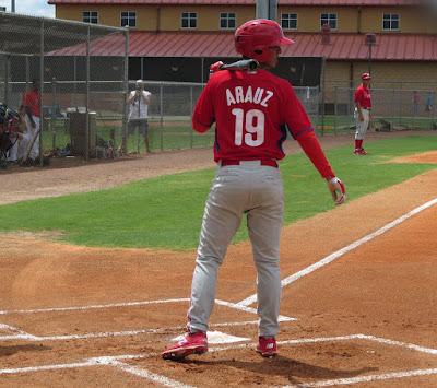 Jonathan Arauz Astros Phillies