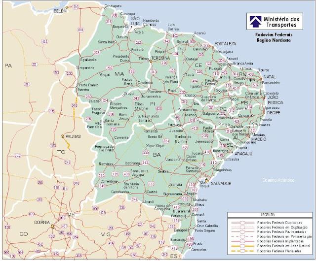 Nesta quarta-feira, grande parte da região nordeste sofre com apagão.